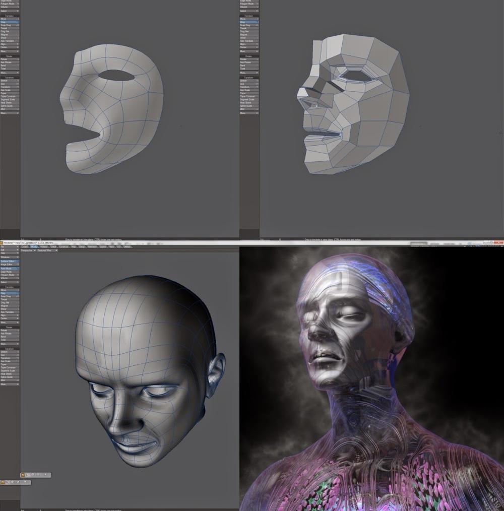 44 face design